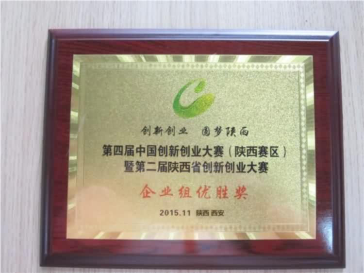 湖南创新创业企业优胜奖